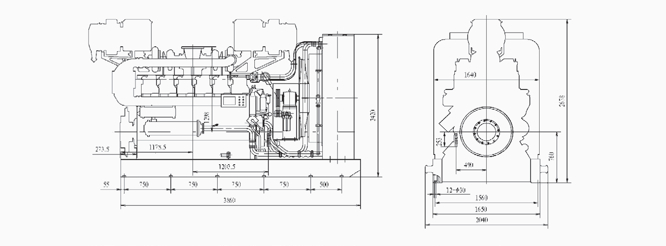 2000 Diesel Engine (390-900Kw) 3
